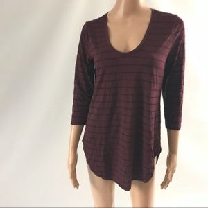 A.N.A. A New Approach Women's Top Size M 3/4